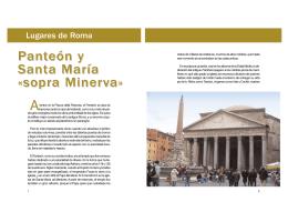 Panteón y Santa María «sopra Minerva»