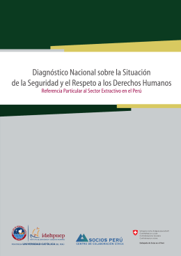 reciente investigación - Idehpucp - Pontificia Universidad Católica