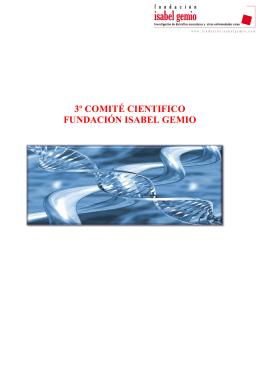 3º comité cientifico fundación isabel gemio
