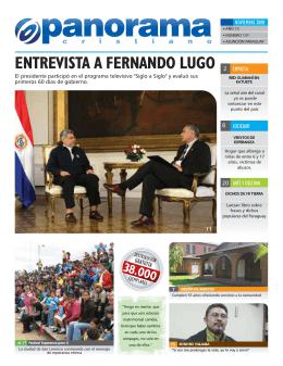 NOVIEMBRE de 2008 Año 12. No 127, Asuncion, Paraguay