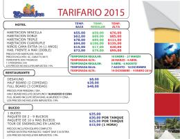 Haga clic en la imagen de abajo para ver las tarifas del hotel