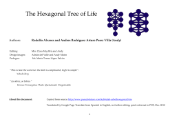 The Hexagonal Tree of Life