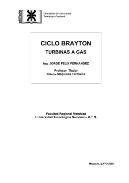 CICLO BRAYTON - edUTecNe - Universidad Tecnológica Nacional