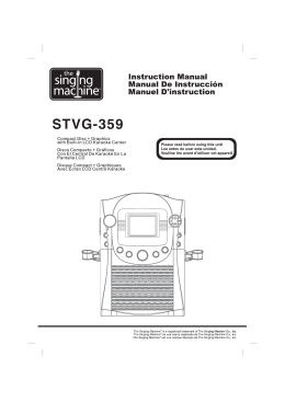 STVG-359 - The Singing Machine