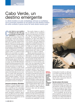 Cabo Verde, un destino emergente