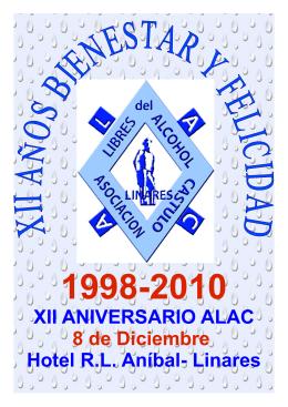 XII ANIVERSARIO ALAC 8 de Diciembre Hotel R.L. Aníbal