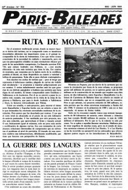 RUTA DE MONTAÑA - Biblioteca Digital de les Illes Balears