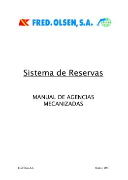 Sistema de Reservas
