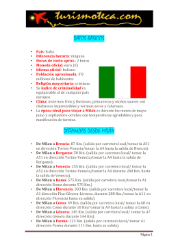 Guía PDF Milán