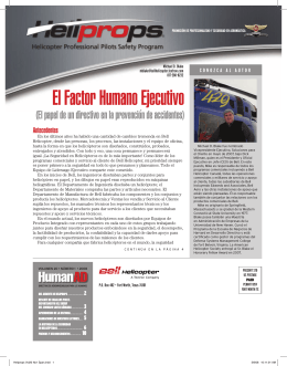 El Factor Humano Ejecutivo