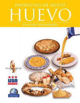 PRODUCTOS DE HUEVO