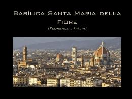 Basílica Santa María del Fiore (Florencia, Italia)