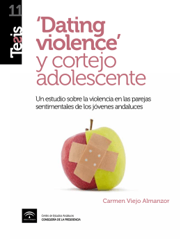 `Dating violence` y cortejo adolescente
