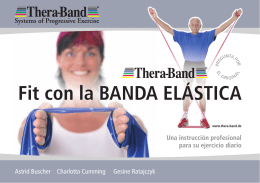 Fit con la BANDA ELÁSTICA - Thera-Band