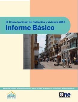 Básico - Censo Nacional de Población y Vivienda 2010