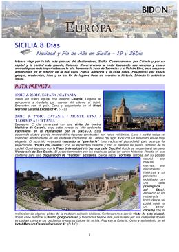 SICILIA 8 Días