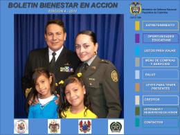 menu compras y servicios - Ministerio de la Defensa