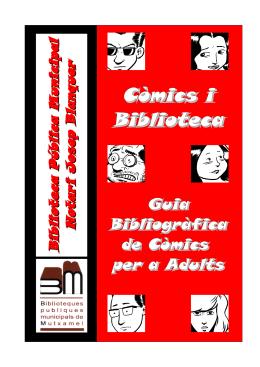 Guía Bibliográfica de Comics para Adultos