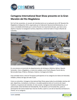 Cartagena International Boat Show presente en la Gran