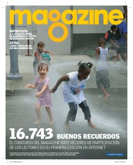 BUENOS RECUERDOS - Concurso de Fotografía del magazine