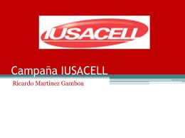 Campaña IUSACELL