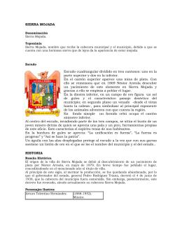 Sierra Mojada - archivo general del estado de coahuila
