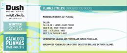 Catálogo PIJAMAS 2015.cdr
