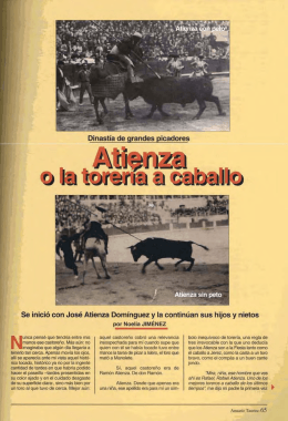 Anuario Taurino 2002 Parte II. - Asociación de la Prensa de Madrid