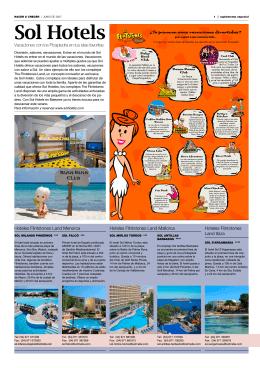 Sol Hotels - publicaciones y medios especializados