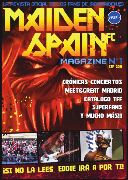 SEP 2011 - Iron Maiden España