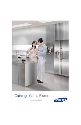Catálogo Gama Blanca