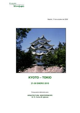 KYOTO – TOKIO