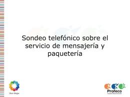 Servicio de mensajería y paquetería en empresas