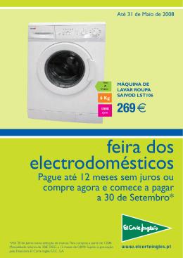 feira dos electrodomésticos