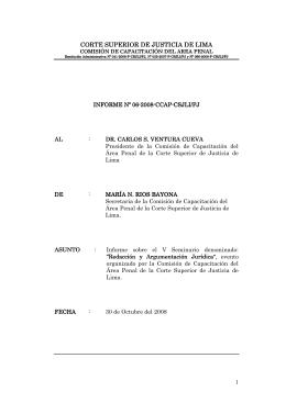 corte superior de justicia de lima corte superior de