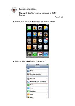 Iphone - Servicios Informáticos