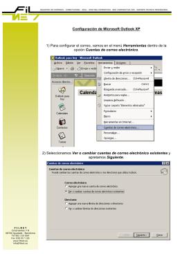 Correo OutlookXP