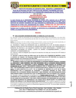 ASOCIACION TACHIRENSE DE FUTBOL