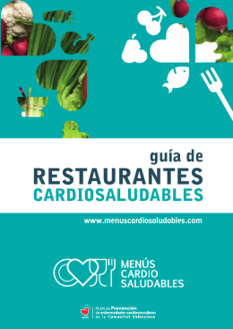 Guía Cardiosaludable