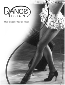 MUSIC CATALOG 2009