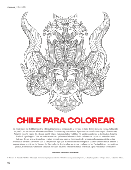 CHILE PARA CoLoREAR