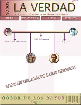 MENSAJE DEL AMADO SAINT GERMAIN COLOR DE LOS