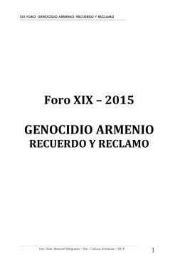 Material Foro 2015 - Subsecretaría de Promoción de Igualdad y