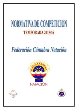 Normativa - Federación Cantabra de Natación