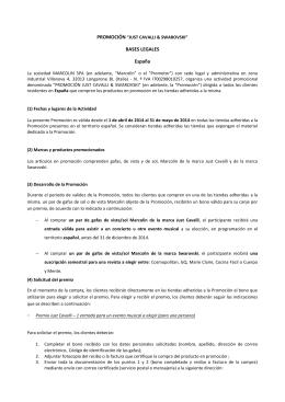 BASES LEGALES España