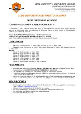 CLUB DEPORTIVO DE PUERTO SAJONIA