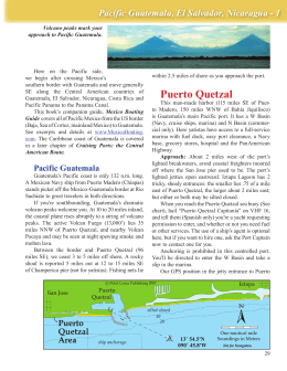 Puerto Quetzal - Mexico Boating Guide