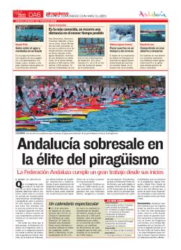 DA6 La Federación Andaluza cumple un gran trabajo desde sus