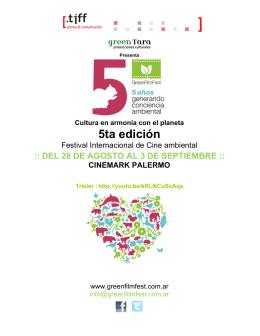 Gacetilla GFF 2014