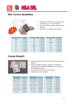 Slip- Covers Ajustables Crystal Shield®